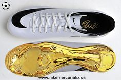 "(White/Gold) Nike Mercurial CR7 2014 ""Special Edition"" 2014 Soccer Cleats"