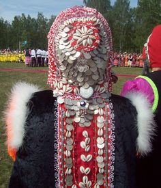 Folk Costume, Costumes, Turkic Languages, Ethnic Outfits, Russian Folk, People Dress, Central Asia, People Of The World, Headgear