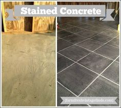 Concrete Patio Pavers Made Into A Beautiful Sidewalk! Learn How To Update  Pavers With Stain