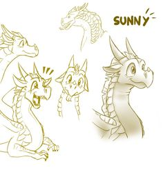 Sketches - Sunny (WoF) by StarWarriors on DeviantArt