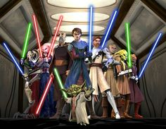 Star Wars : The Clone Wars I must say, this addition of star wars saga, this series really open my eyes about the political side and an in depth view about the war itself how eventually ultimately fall to their doom.