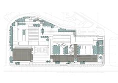 Image 16 of 21 from gallery of High School Monserrate / Marques Franco Arquitectos. School Plan, Master Plan, Landscape Design, High School, Floor Plans, How To Plan, Education, Architecture, Gallery