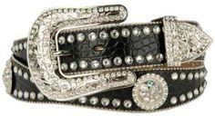 Blazin Roxx® Ladies Rhinestone Western Belt N3512001 | Cavender's