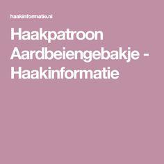 Haakpatroon Aardbeiengebakje - Haakinformatie