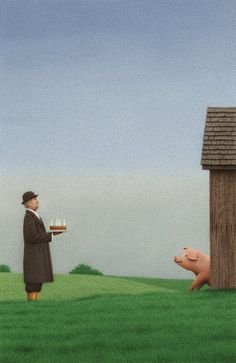 ☆ The Birthday :¦: By Artist Quint Buchholz ☆