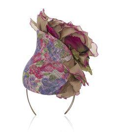 Philip Treacy Flower Cascade Hat