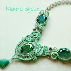 Soutache neckless