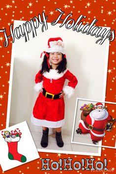 DIY Santa Claus costume