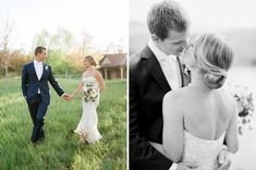 Bride and Groom in Aspen, Colorado. Monique Lhuillier wedding gown. Photo by Rachel Havel