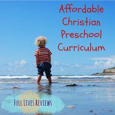 Affordable Christian Preschool Curriculum