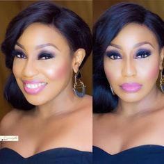 Checkout stunning makeup photos of Rita Dominic