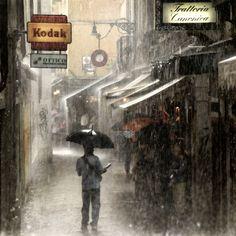 """(via 500px / Photo """"Heavy Rain"""" by roby bon)"""