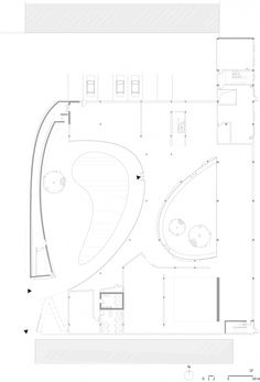 Tree Museum   Daipu Architects  Song zhuang, Beijing, China  Floor Plan, 2009