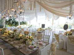 STUNNING wedding decor from Mindy Weiss