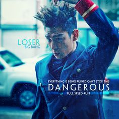 """""""Everything is being ruined Can't stop this dangerous full speed run.""""  {Loser - BIGBANG} des by Aqua@Kitesvn.com"""