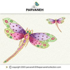 Parvaneh's Jewelled Dragonflies