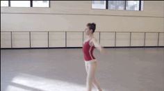 """Not that anyone was arguing this, but ballet requires a tremendous amount of hard work. 