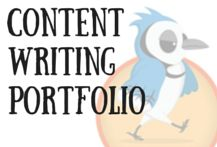 Custom Pinterest Cover Image for Jay Artale's Content Writing Portfolio. Social Media Management and Content Marketing.