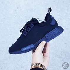 Speaking of @adidasoriginals #NMD's check out @carmeno_customs Triple Black Custom  #Repost Via @carmeno_customs  Custom hand Painted Triple Black Adidas NMD | Rate 1-10? #RateMyCustom by kingoftrainers