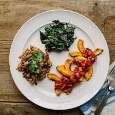 Kale with The Greenest Tahini Sauce Recipe