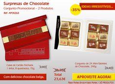 Já conhece as nossas promoções de Setembro? Deliciosos chocolates!