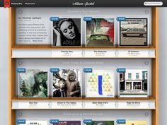 Album Jacket Store Full - Chris Brauckmuller, http://dribbble.com/cbrauckmuller