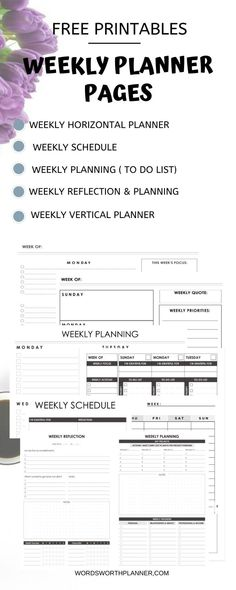 Planners from Wordsworth planner- a daily, weekly planner, it increases productivity by organizing your life goals. appointment calendar, journal and daily organizer to find the beauty in your chaos and build your best self today!