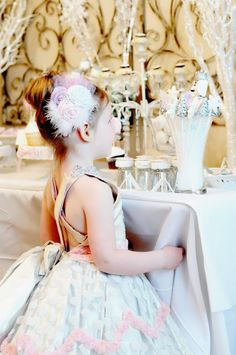Sugar Plum Nutcracker Winter Ballerina Party - Kara's Party Ideas - The Place for All Things Party