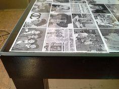 Всем понравилось. И столик хорошо вписался в наш черно-белый интерьер Black Coffee Tables, New Life, Personalized Items