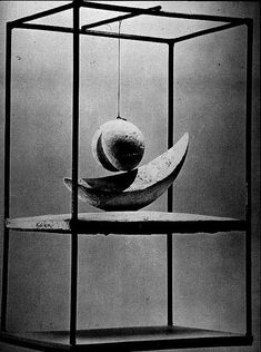 Alberto Giacometti - Suspended Ball Rosalind Krauss wrote amazing things about this amazing work.
