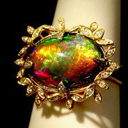 Opal Jewelry by California Artisan Amy Klitsner por AmyKJewels