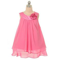 Kids dresses - Pin It :-) Follow Us :-))  azDresses.com  is your  Dresses Product Gallery.  CLICK IMAGE TWICE for Pricing and Info :) SEE A LARGER SELECTION of  kids dress at  http://azdresses.com/category/dress-categories/dresses-by-type/kids-dresses/  - baby girl, toddler dress , dresses, dress, kids dress  -  Kids Dream Girl 8 Fuchsia Chiffon A Line Flower Girl Dress « AZdresses.com