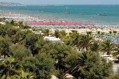 San Benedetto del Tronto: Palm beach, Marche - Italy
