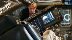 Christopher Nolan on the set of Interstellar. #hairporn
