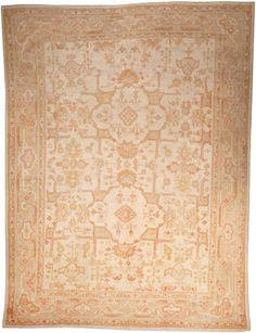 Oushak carpet  West Anatolia  late 19th century  size approximately 10ft. x 13ft. 5in.