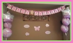Carter's baby shower inspired banner