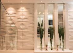 [DETALHES] Hall social - #okaarquitetura #arquitetura #interiores #arquiteturaeconstrucao #home #house #architecture #decoração #decor #arquiteturaeinteriores #arch #projetodeinteriores #hall