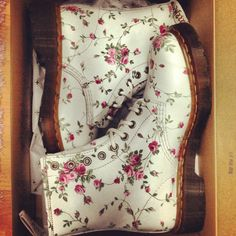 I just really love Doc Martens... esp. floral ones
