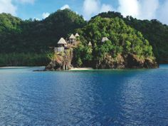What Could Make a Private Island Resort Even Better? A Private Submarine.  Laucala Island resort.