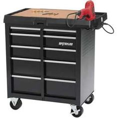 WATERLOO SPPC5BKP 5Drawer Deluxe Project Center 34 x 20 x 345 ** Check out the image by visiting the link.