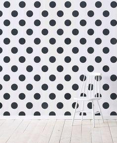 polka dots     #wall #interior