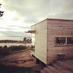 A modern cabin