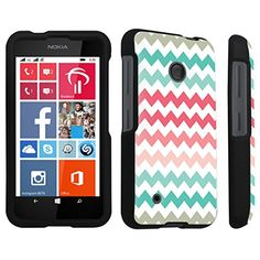 DuroCase ® Nokia Lumia 530 Hard Case Black - (Coral Mint Chevron) DuroCase http://www.amazon.com/dp/B00P8UVXXU/ref=cm_sw_r_pi_dp_svEFub1H4YCD8