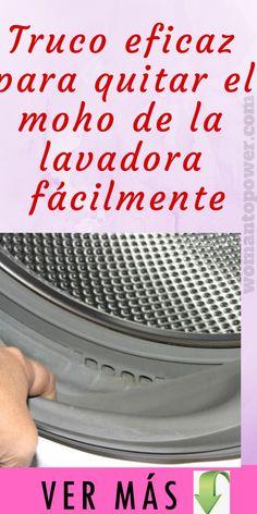 Deja tu lavadora como de fabrica con este sencillo truco! Lo que hubiera ahorrado de saberlo antes! - Crochetfornovices.com