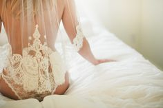 Miss K //Boudoir Andria Lindquist Bridal. I like this one. Classy and I wouldn't mind hanging it on the wall in the bedroom!