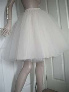 Knee length Tulle Skirt. Love it!