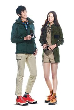 Yoo Yeon Seok & Lee Yeon Hee for the north face white label