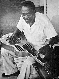 "Oscar ""Buddy"" Woods (c. 1895 – December 14, 1955) was a Texas blues guitarist, singer and songwriter.  Woods, who was an early blues pioneer in lap steel, slide guitar playing, recorded thirty-five tracks between 1930 and 1940. He recorded solo and as part of the duo, the Shreveport Home Wreckers, and with a six/seven piece group, the Wampus Cats. Woods's best known song was ""Lone Wolf Blues"", from which came his billing as 'The Lone Wolf'."