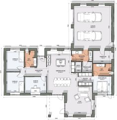 Construction, House Layouts, Future House, Planer, Bali, House Plans, Sweet Home, New Homes, Floor Plans