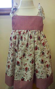 Tie Shoulder Summer dress age 3 £15.00